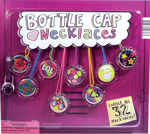 Bottle Cap Necklaces Vending Capsules 250 ct