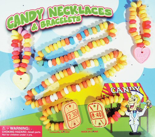 Candy Necklaces & Bracelets Vending Capsules 250 ct