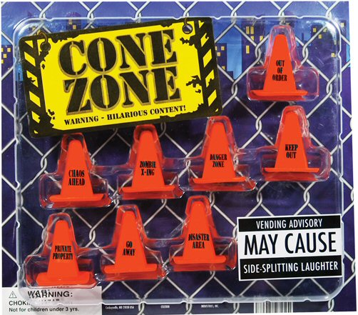 Cone Zone Vending Capsules - Click Here To Buy!