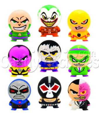"2"" DC Villains Buildables Vending Capsules - 250 ct."