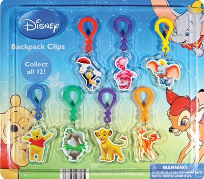 Disney Backpack Clips Vending Capsules