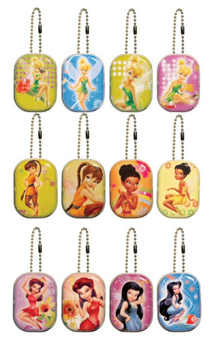 Disney Fairy Mini Tin & Princess Ring Mix Vending Capsules 250 ct