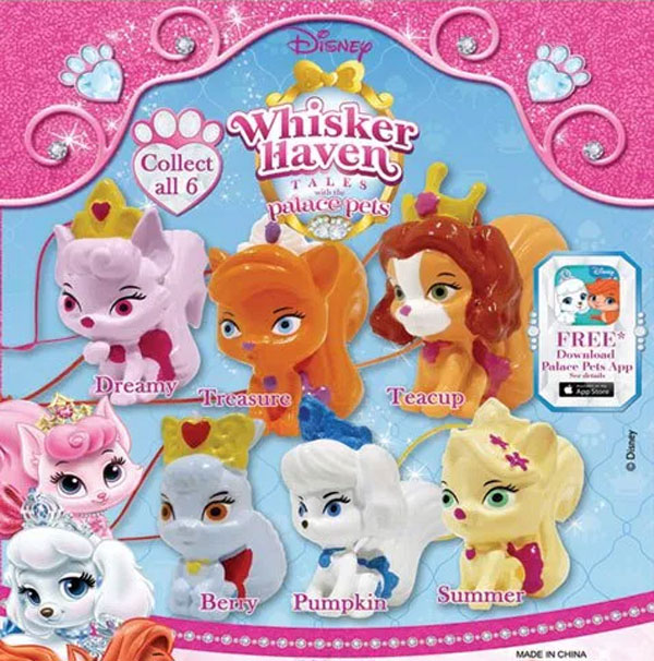 2quot Disney Palace Pets 3D Danglers Vending Capsules