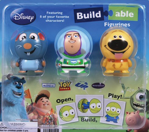 Disney Pixar Capsule Buildables