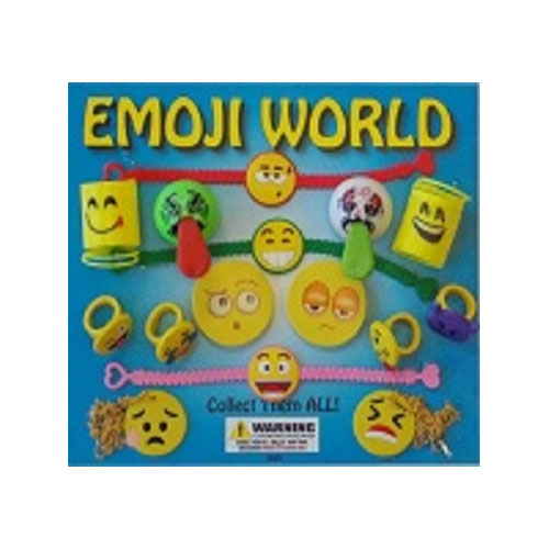 "2"" Emoji World Vending Capsules - 250 ct."