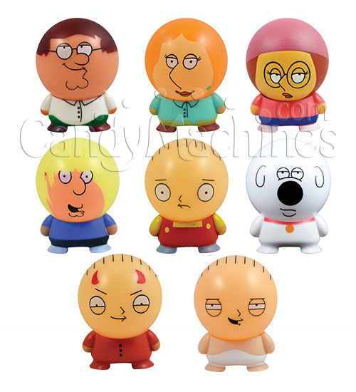 Family Guy Peters Toy Design : Buy family guy buildables vending capsules
