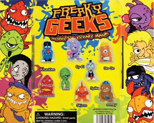 Freaky Geeks Vending Capsules