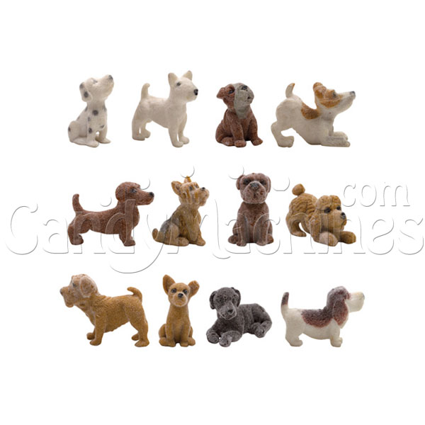 "2"" Fuzzy Friends Puppies Series 2 Vending Capsules - 250 ct."