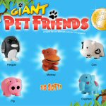 Pet Friends Giant Refill Acorn Vending Capsules - 250 ct.