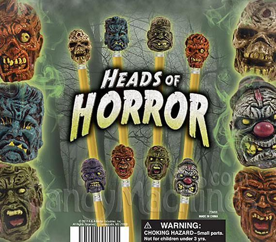 Heads Of Horror Terror Toppers Vending Capsules