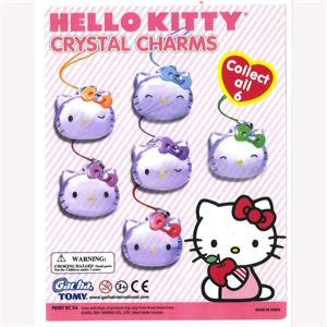 Hello Kitty Crystal Charms Vending Capsules