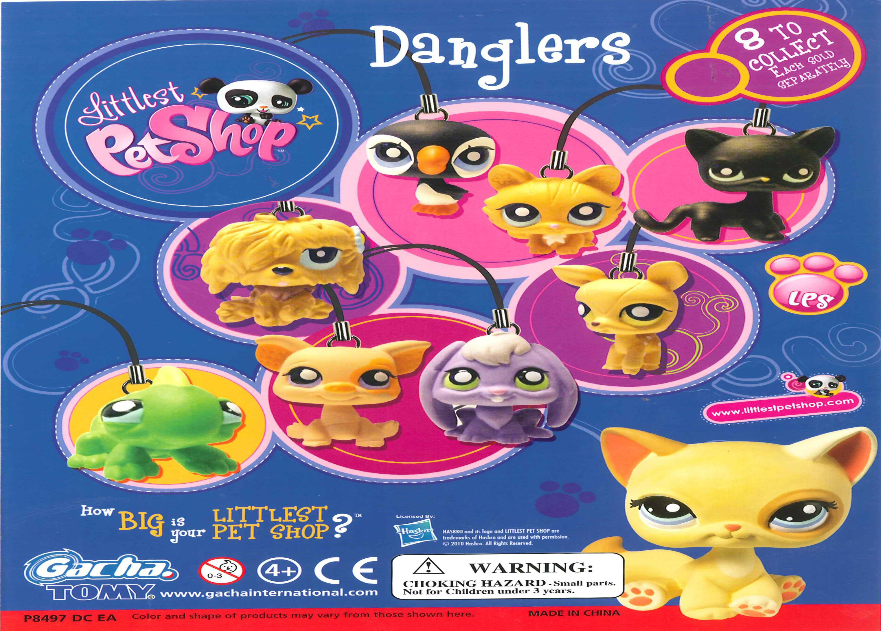 Littlest Pet Shop Danglers Vending Capsules