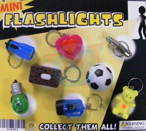 Mini Flashlights Vending Capsules