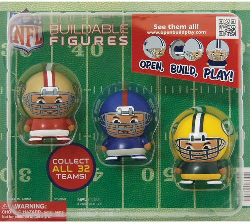 2-inch NFL Buildable Figures Self-Vending Toys - 250 ct.
