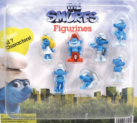Go Back In Time With Smurf Figurines!