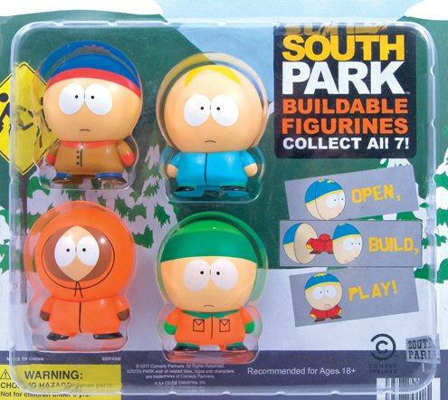 South Park Buildables Vending Capsules