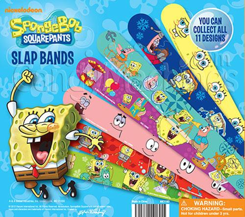 SpongeBob Slap Bracelets Vending Capsules