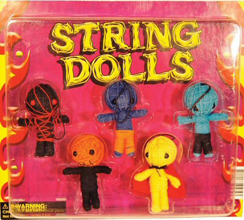 string dolls vending machine