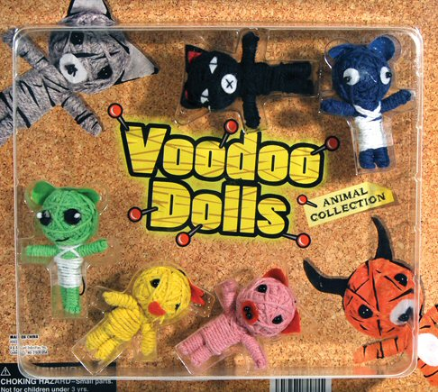 Voodoo Dolls Vending Capsules